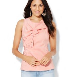 NY&Co Knot Front Top